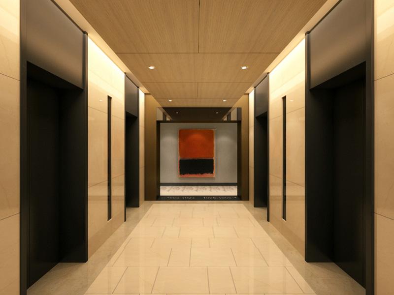 Contemporary Hallway Interior Designer in NYC | Jonathan Baron